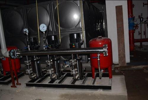 历数变频公供水设备的维护要点