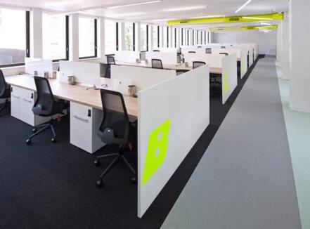 上海办公室空间装修色彩搭配秘诀