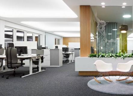 上海办公室空间装修的要点