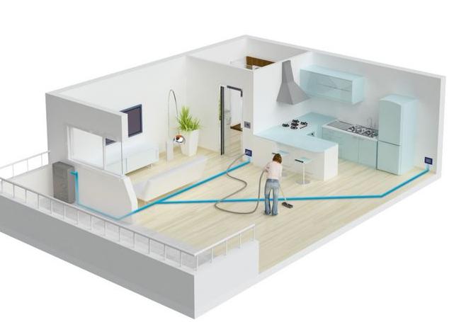 家用中央除尘系统究竟有哪些优势呢