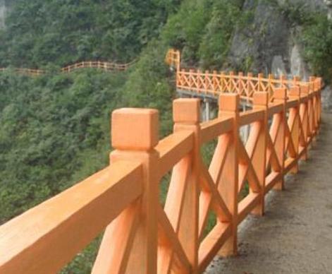 仿木栏杆有什么重要优势呢