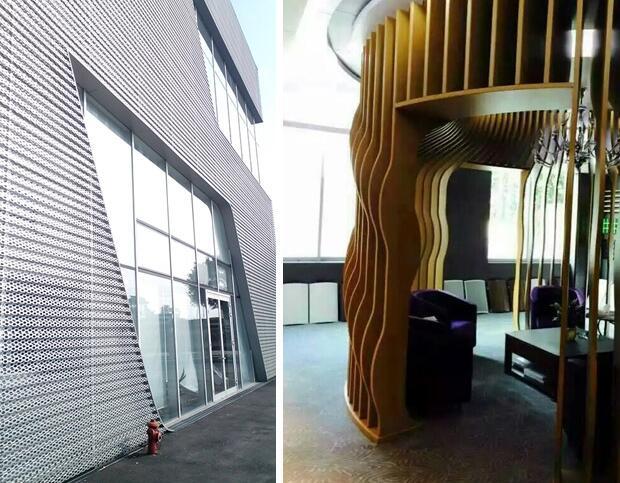 冲孔铝单板和铝塑板有何区别
