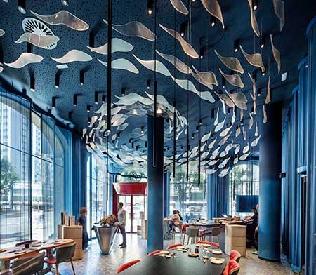 咖啡厅设计的装饰主要有哪些