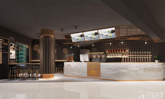 怎样的奶茶店设计更具吸引力?
