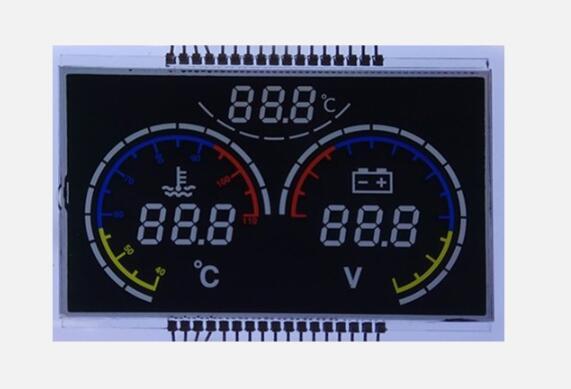 影响定制段码LCD液晶显示屏效果的因素有哪些