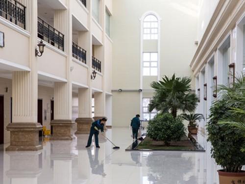 上海保洁托管的地板清洗技巧有哪些?