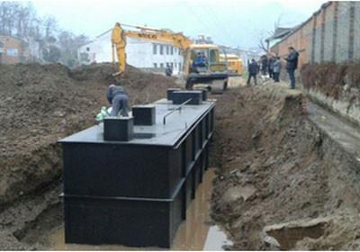 简述一体化污水处理设备的工艺流程
