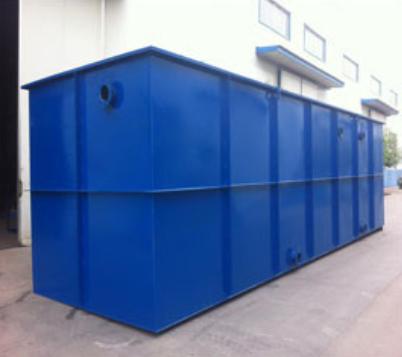 一体化污水处理设备中常见的处理池有哪些