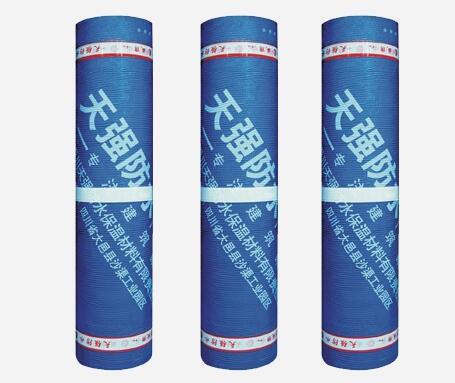 自粘胶膜防水卷材发展的三大趋势