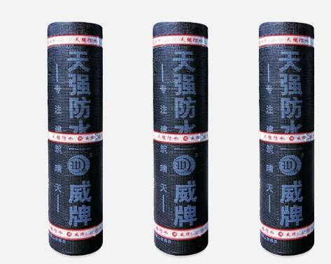 自粘胶膜防水卷材的产品特性有哪些