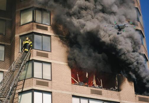 消防灭火中消防无人机能起到哪些作用