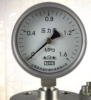 隔膜压力表如何清洗?