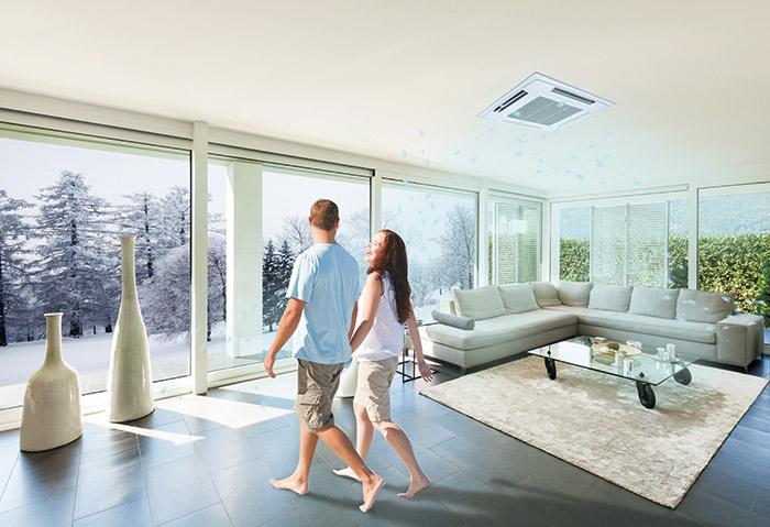 松下中央空调比普通空调好在哪儿?