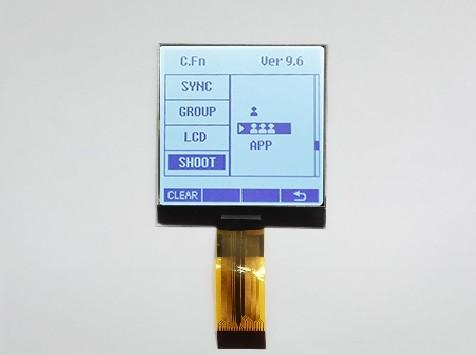 点阵LCD液晶显示屏的三大特性