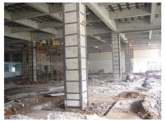 粘鋼加固深受建筑用戶歡迎的原因
