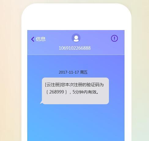 验证码短信导入的必要性