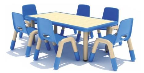 什么样的幼儿园桌椅更受用户的欢迎