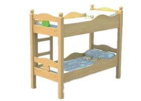 哪些材质更适宜用来制作幼儿园床?