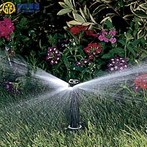 常见的灌溉喷头都有哪些类型