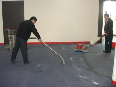 上海办公室地毯清洗公司解读地毯的局部清洗要点