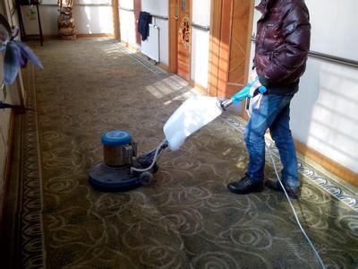 上海办公室地毯清洗的主要流程有哪些?