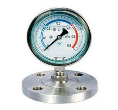 快装隔膜压力表有什么优势呢