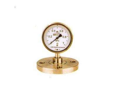 快装隔膜压力表后期使用与维护要点