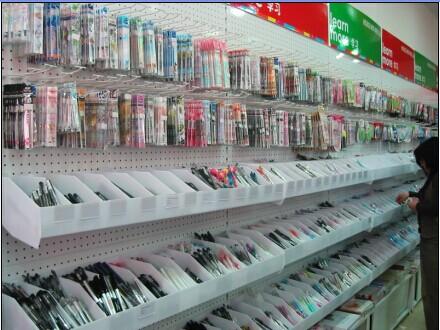 如何选购文具店货架